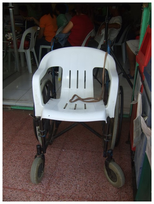 2nd wheelchair donation