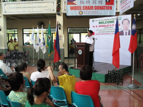 Marikina Wheelchair Donation