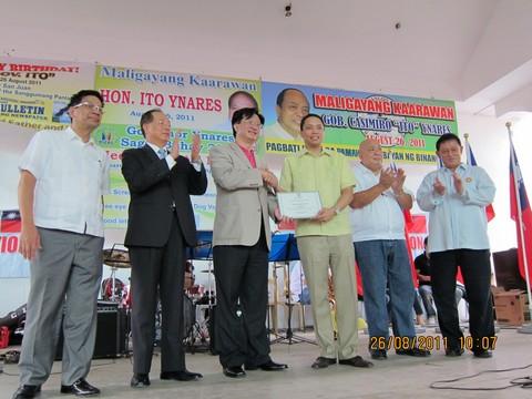 Wheelchair Donation in Binangonan City, Rizal