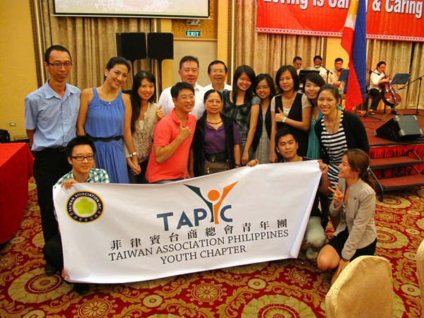 TAPYC attend Ms. Chen Welcome Party
